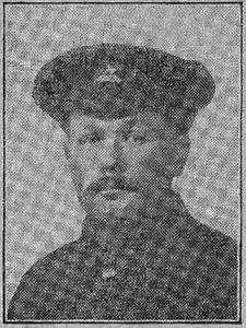Stephen John Sears MM (1881 - 1918)