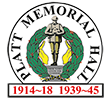 Platt Memorial Hall Sticky Logo